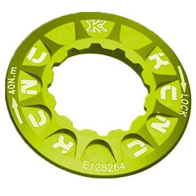 KCNC Lockring for Disc Brake Shimano Centerlock yellow green